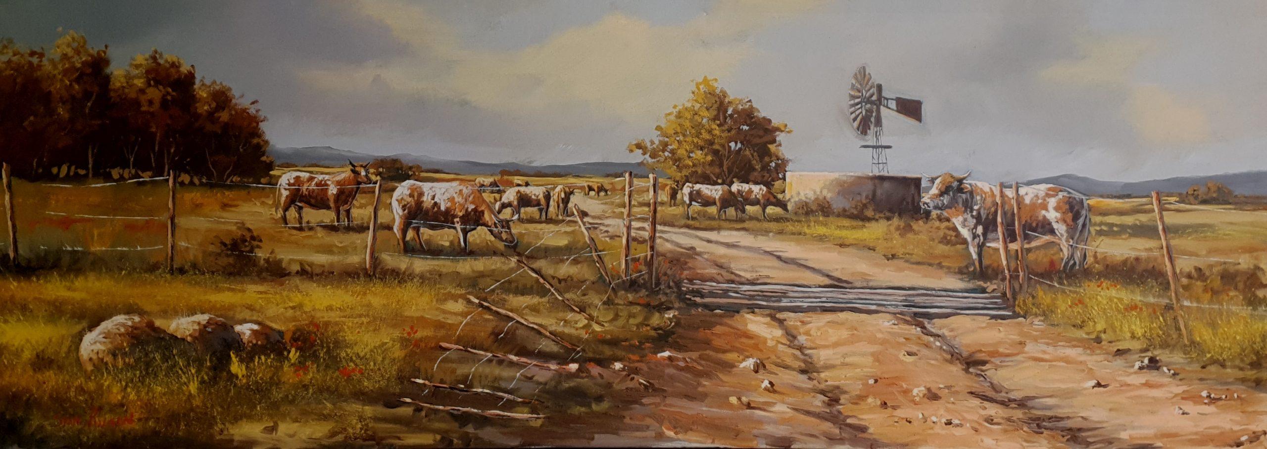 stan polson cattle field