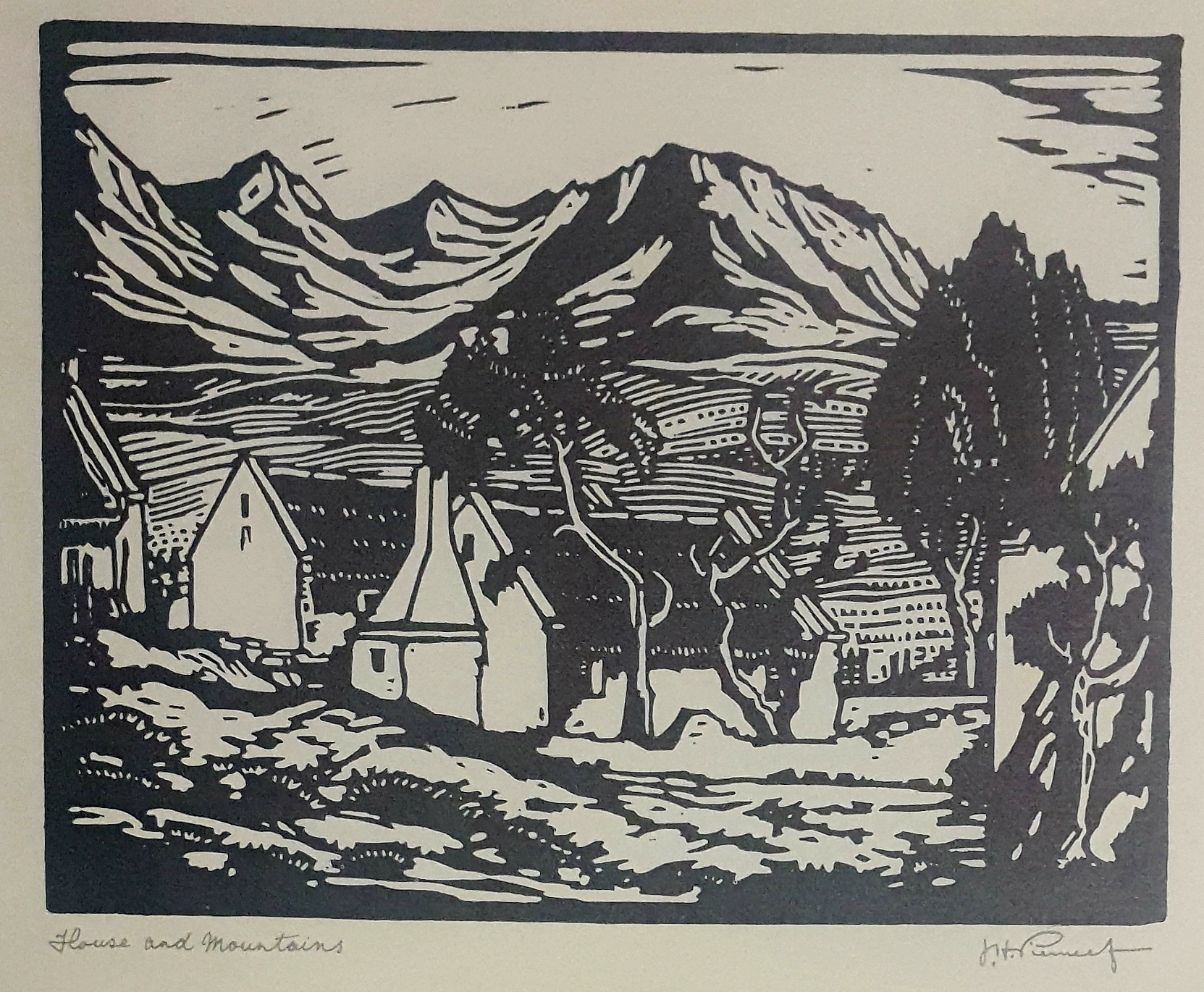 pierneef House and Mountains