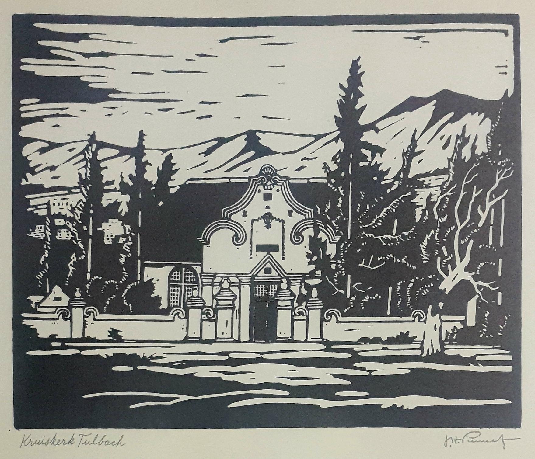 pierneef kruiskerk Tulbach